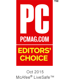 PC MAG Editors' Choice 10/2015