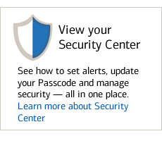 View your Security Center