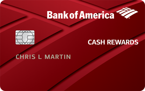 Bank of America® Cash Rewards Credit Card Cash Back