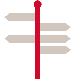 direction post icon