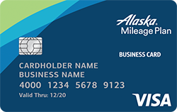 Alaska Airlines Visa 174 Business Credit Card From Bank Of