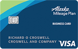 Alaska Credit Card Login >> Alaska Airlines Visa Business Credit Card From Bank Of America