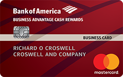 earn up to 3 cash back on business purchases - Back Of Business Card