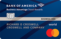 Business Advantage Travel Rewards World Mastercard® credit card