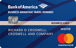 Business Advantage Travel Rewards World Mastercard Credit Card