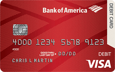 bank of america red credit card